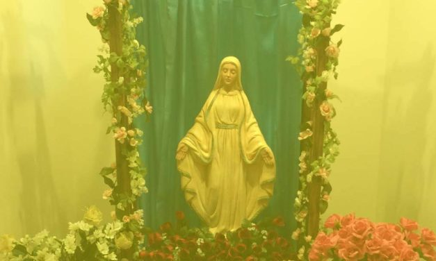 IDEALLY, TO BE LIKE HOLY MARY