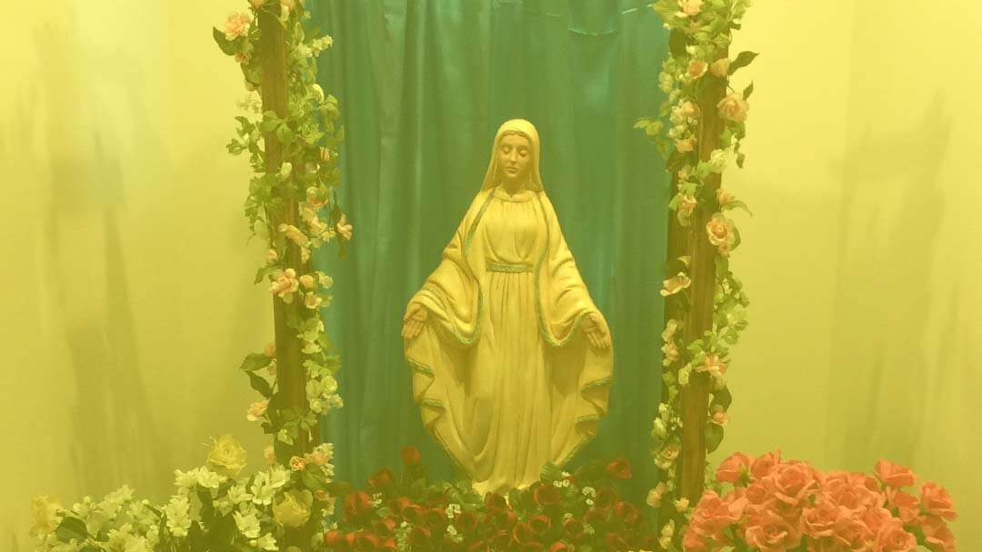 IDEALLY, TO BE LIKE HOLY MARY