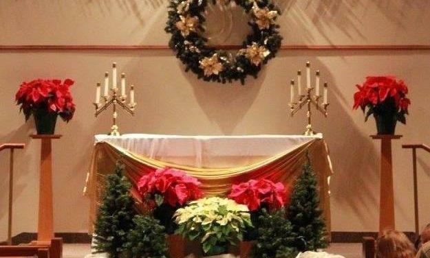 Mass Times for Christmas