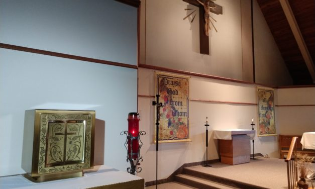 Front and Center:  Tabernacle Move