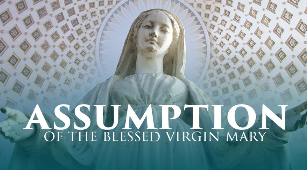 Solemnity of the Assumption Mass Times