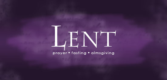 LENT 2019 SCHEDULE AND INFORMATION