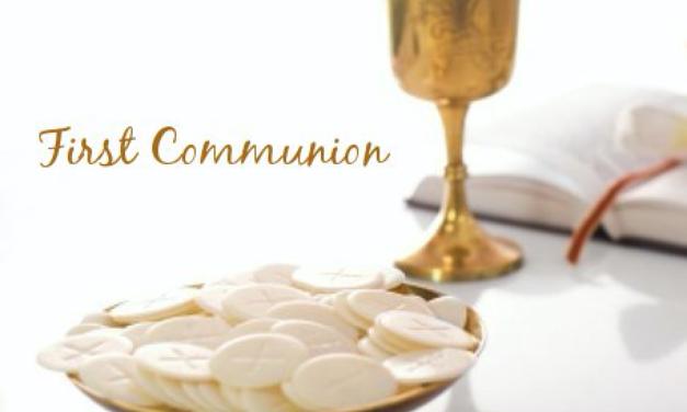 First Communion Weekend