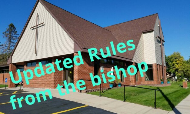 Updated Protocols for Parish Events